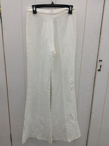 White Designer Womens Size XS Pants