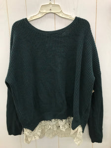 Green Womens Size L Sweater