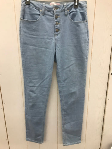 Juniors Buttonfly Skinny Jeans- Sz 13