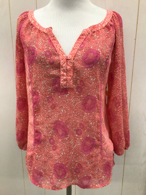 American Eagle Pink Womens Size XS Shirt