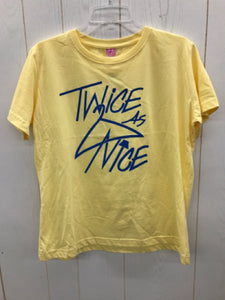 Yellow Womens Size L Shirt