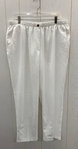 Alia White Womens Pants - Sz 18