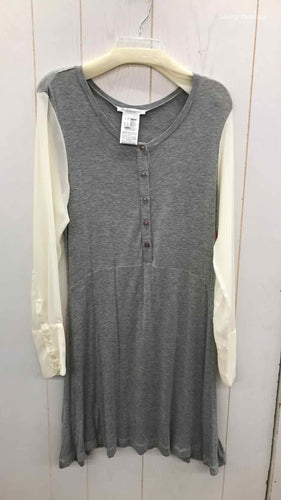BCBGeneration Gray Size 10 Dress