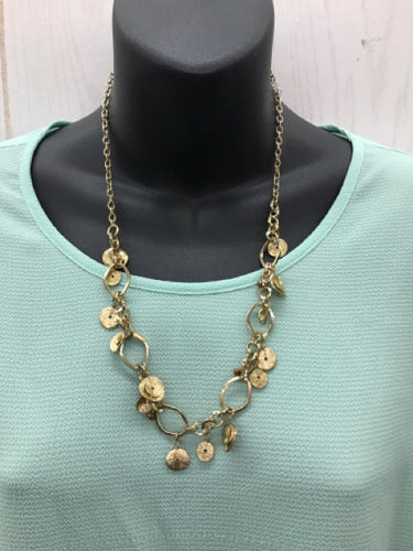 Golden Dangle Necklace