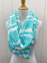 Load image into Gallery viewer, Scarf - Blue/White Infinity