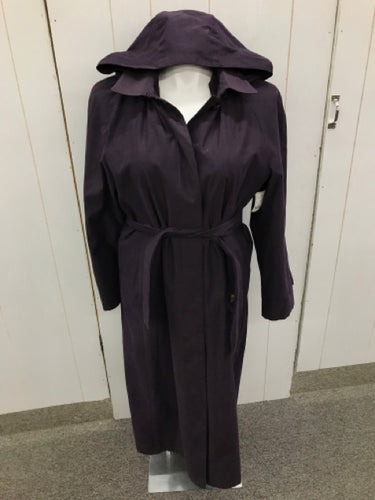 London Fog Purple Womens Size 14 Coat
