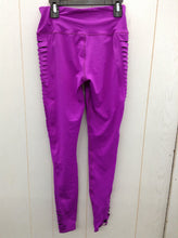 Load image into Gallery viewer, Purple Designer Womens Size XS Leggings