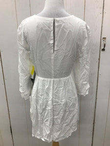 LULU'S White Womens Size Small Shirt