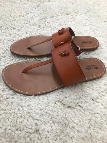 Mossimo Brown Sandals Womens Size 7.5