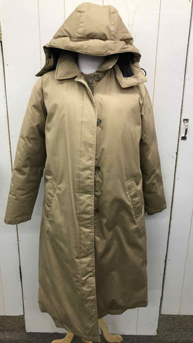 Lands End Tan Womens Size Small Jacket (Outdoor)