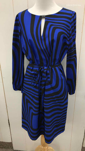 Tahari Blue Womens Size 4 Dress