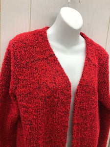 Maurices Red Womens Blazer - Large