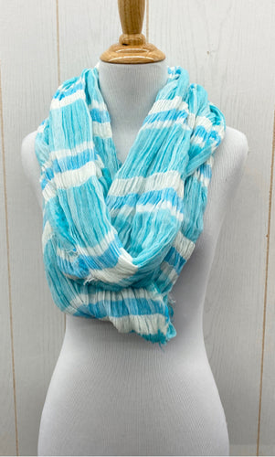 Scarf - Blue/White Infinity