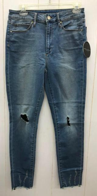 Articles of Society Distressed Skinny Jeans NEW Sz 28