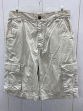 Load image into Gallery viewer, Boys Size 16 Khaki Cargo Shorts