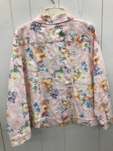 Load image into Gallery viewer, Christopher & Banks Pink Womens Size 14P Blazer