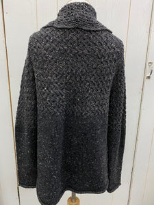 Chico's Gray Womens Sweater - Medium