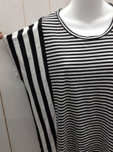Load image into Gallery viewer, Michael KORS Black Stripe Womens Shirt - XS