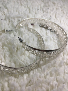 Earrings Silver Hoops