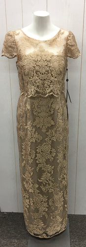 Adrianna Papel Lace Dress - NEW - Womens 8 Petite