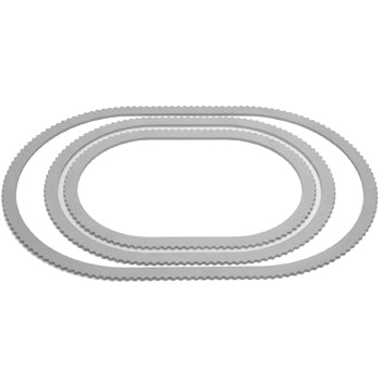 Bookler® Oval Solid Rings