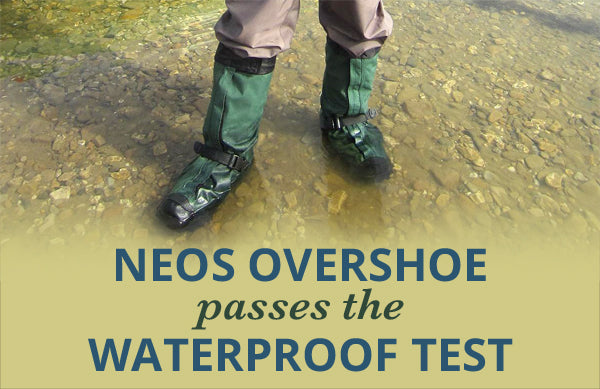 NEOS Overshoes Pass The Waterproof Test