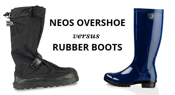 4 Reasons Why NEOS Are Better Than Rubber Boots
