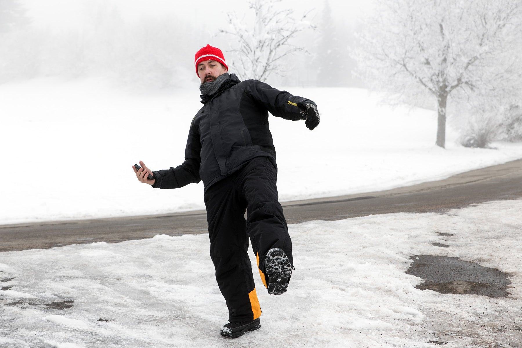 Avoid the Dangers of Slipping On Ice