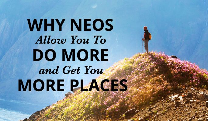 Why NEOS Allow You To Do More and Get You More Places