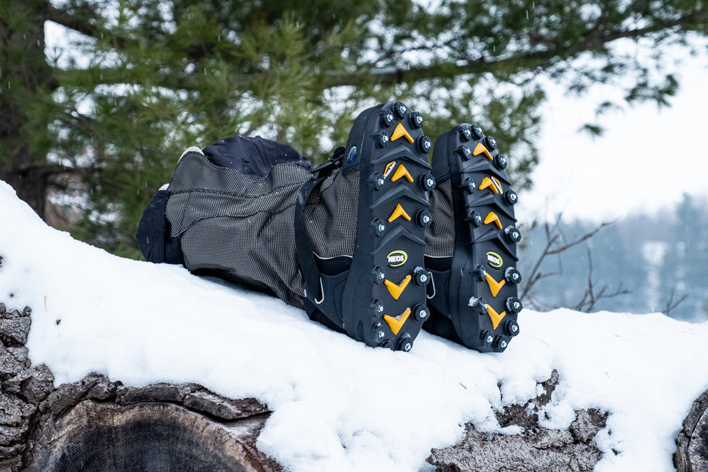 NEOS 32 replaceable cleats for ultimate traction on snow and ice