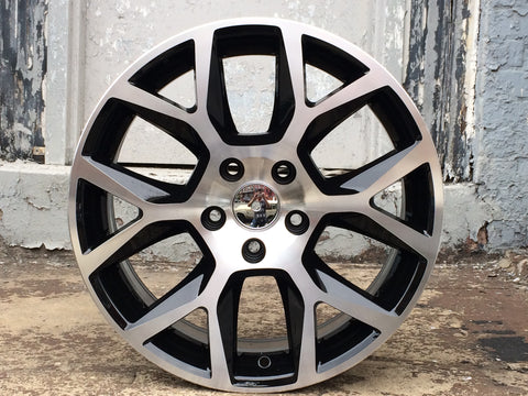 Black Machined Face Wheels