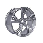 Load image into Gallery viewer, Audi S4 Gunmetal Machined Face Wheels