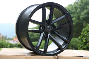 Camaro ZL1 Wheels Matte Black