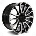 Load image into Gallery viewer, Range Rover Wheels Black Machined Face