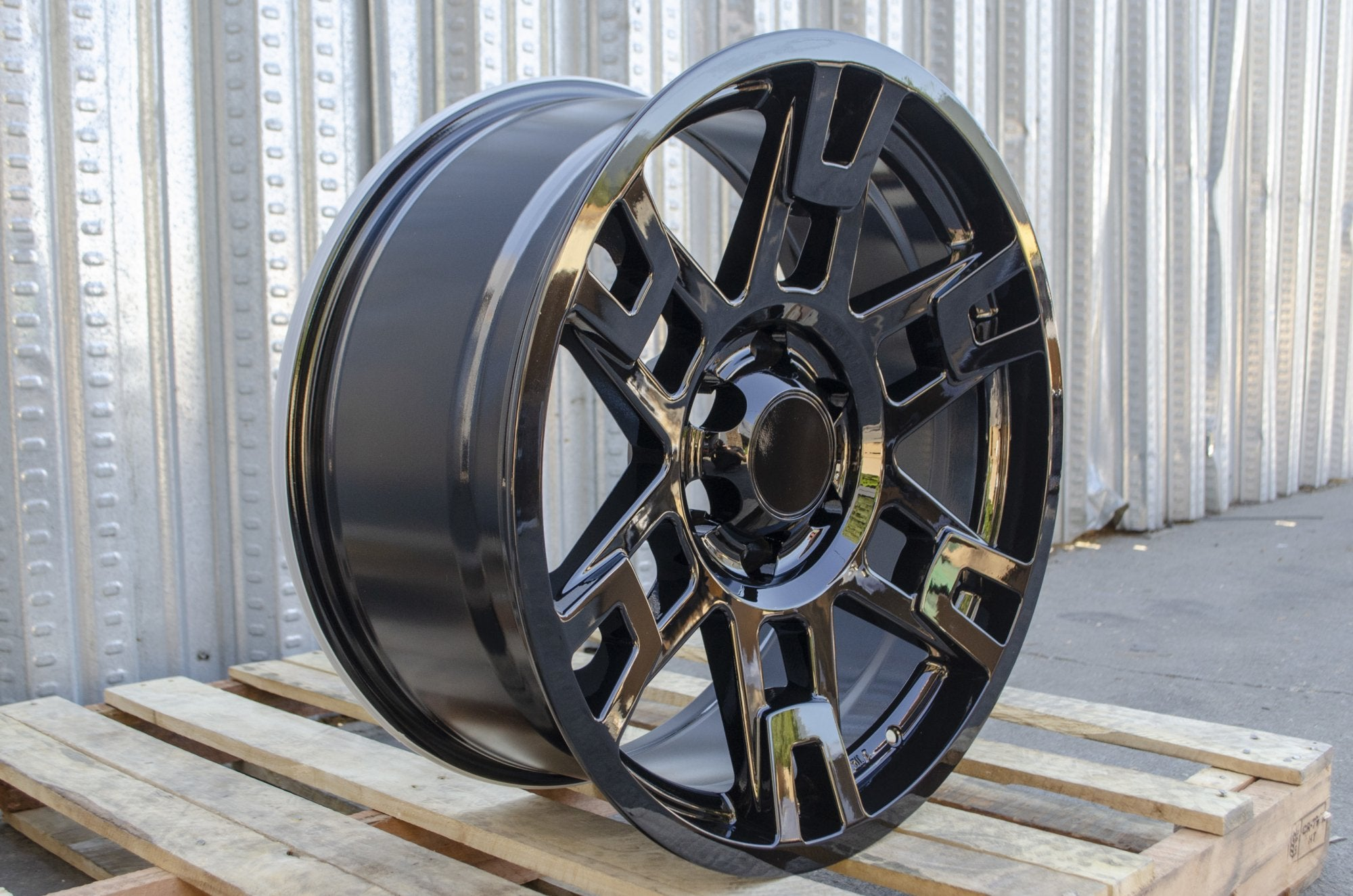 Toyota TRD Pro Wheels Gloss Black