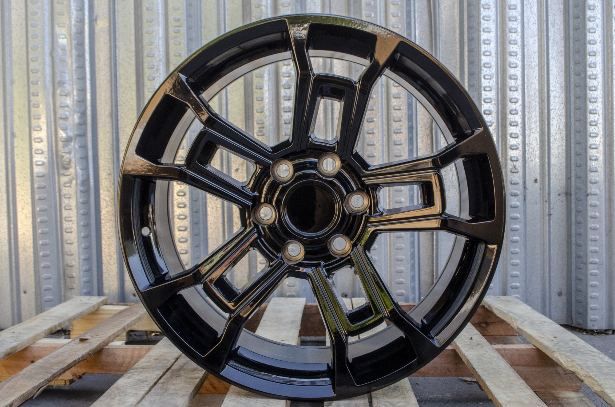 20 Inch Toyota TRD Pro Wheels Gloss Black