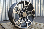 Load image into Gallery viewer, 20 Inch Toyota TRD Pro Wheels Matte Gunmetal
