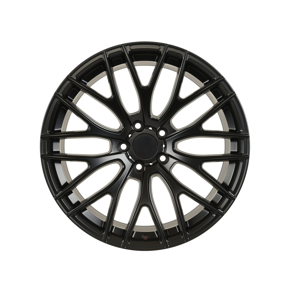 A1 Mesh Style Wheels Satin Black