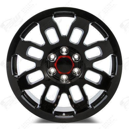 16 Inch Toyota TRD Pro Wheels Gloss Black