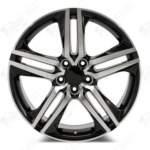 2016 Honda Accord Sport Wheels Black Machined Face