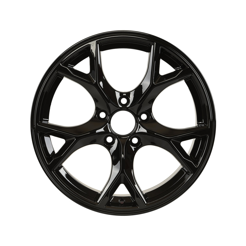 Honda Civic Type R Wheels Gloss Black