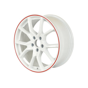 Honda Civic Type R Wheels White Red Lip