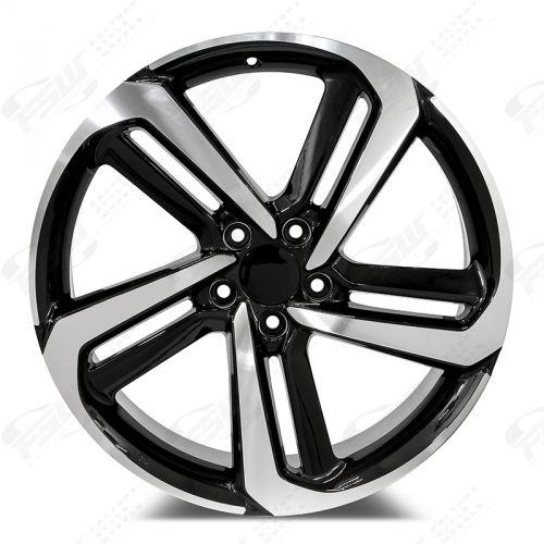 Honda Accord Sport Wheels Black Machined Face