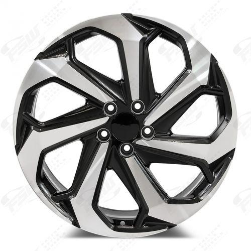 Honda Accord Touring Wheels Black Machined Face