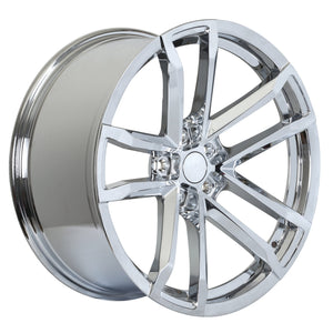 Camaro ZL1 Wheels Chrome