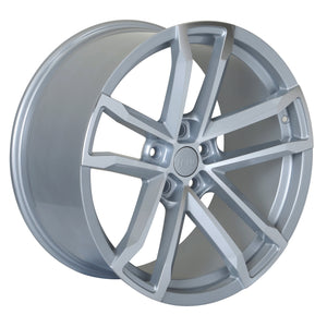 Camaro ZL1 Wheels Silver Machined Face