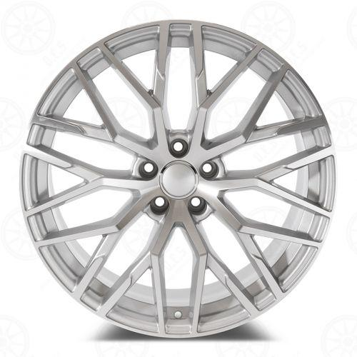 Audi R8 Wheels Silver Machined Face