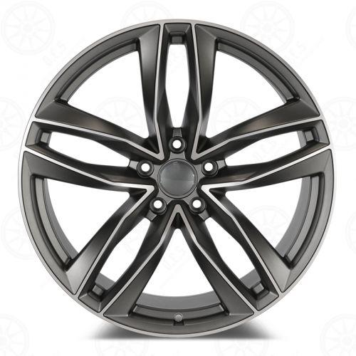 Audi RS6 Wheels Gunmetal Machined Face