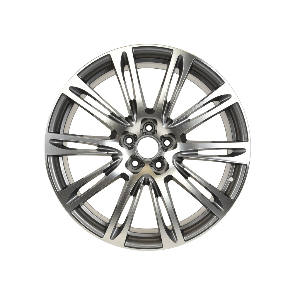 Audi A7 Wheels Gunmetal Machined Face
