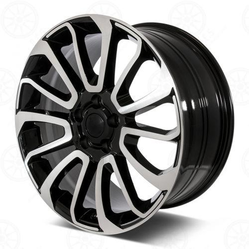 Range Rover Wheels Black Machined Face
